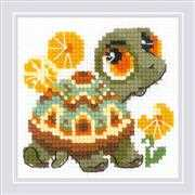 RIOLIS Little Turtle Cross Stitch Kit