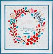 VDV Sweet Home Embroidery Kit