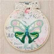 VDV Green Butterfly Embroidery Kit