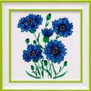 VDV Cornflowers Cross Stitch Kit