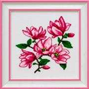 VDV Magnolias Cross Stitch Kit
