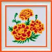 Marigold - VDV Cross Stitch Kit