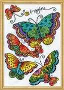 Butterflies - Design Works Crafts Cross Stitch Kit