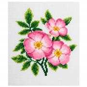 VDV Dog Rose Cross Stitch Kit