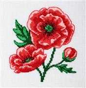 VDV Poppies Cross Stitch Kit