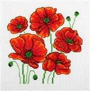 Poppies - VDV Cross Stitch Kit