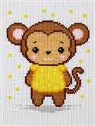 Monkey - VDV Cross Stitch Kit
