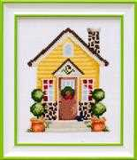 VDV House in Sunlight Cross Stitch Kit