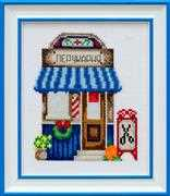 VDV Marvelous Hairdressers Shop Cross Stitch Kit