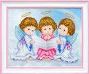 VDV Three Little Angels Embroidery Kit