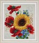 VDV Flowers of the Field 2 Embroidery Kit