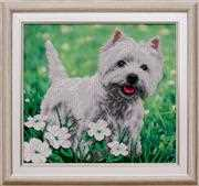 VDV Westie Terrier Embroidery Kit