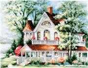 Luca-S The Lake House Cross Stitch Kit