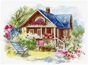 Luca-S Outdoor Veranda Cross Stitch Kit