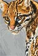 Luca-S Ocelot Cross Stitch Kit