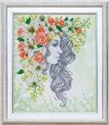 VDV Lady Spring Embroidery Kit