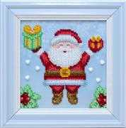 VDV Father Christmas Embroidery Kit