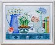 VDV Still Life with Narcissus Embroidery Kit
