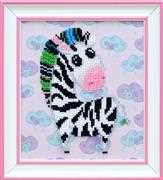 VDV Zebra Embroidery Kit