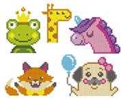 VDV Baby Animals Embroidery Kit