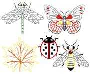 VDV Insects Embroidery Kit