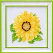 VDV Sunflower Cross Stitch Kit