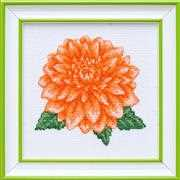 Dahlia - VDV Cross Stitch Kit