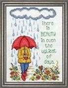 Cross stitch Design Works Crafts Messages