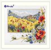 Summer Field - Merejka Cross Stitch Kit