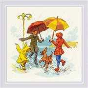 RIOLIS There's No Bad Weather Cross Stitch Kit