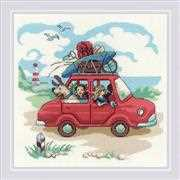 RIOLIS The Day Trip Cross Stitch Kit