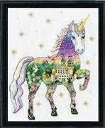 Scenic Unicorn - Design Works Crafts Cross Stitch Kit