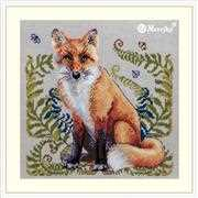 Merejka The Fox Cross Stitch Kit