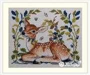 Merejka Little Fawn Cross Stitch Kit