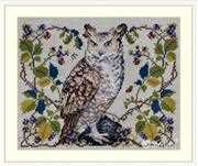 Merejka The Owl Cross Stitch Kit