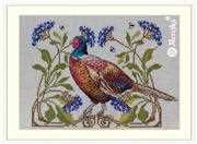 Merejka The Pheasant Cross Stitch Kit