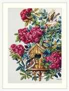 Merejka Rose Bush Cross Stitch Kit