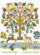 Bothy Threads Tree of Plenty Cross Stitch Kit