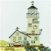 Bothy Threads New England: The Lighthouse Cross Stitch Kit