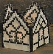 Permin Hardanger Tudor Church Embroidery Kit