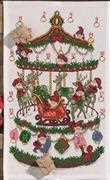 Permin Reindeer Carousel Advent Christmas Cross Stitch Kit