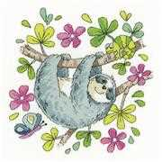 Sloth - Heritage Cross Stitch Kit