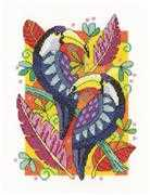 Toucans - Heritage Cross Stitch Kit