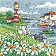 Heritage Daisy Shore - Aida Cross Stitch Kit