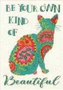 Dimensions Paisley Cat Cross Stitch Kit