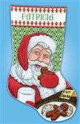 Cookies for Santa Stocking - Design Works Crafts Cross Stitch Kit