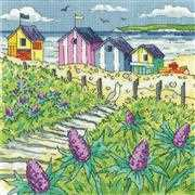 Sea Holly Shore - Aida - Heritage Cross Stitch Kit