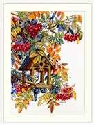 Colourful Rowan - Merejka Cross Stitch Kit
