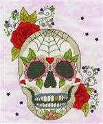 Bothy Threads Sugar Skull Cross Stitch Kit