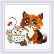 RIOLIS Tea for Two Cross Stitch Kit